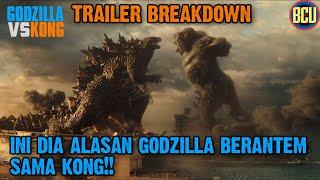 TERUNGKAP SEJARAH KELAM DIBALIK PERTARUNGAN GODZILLA & KONG!! | GODZILLA VS KONG TRAILER BREAKDOWN