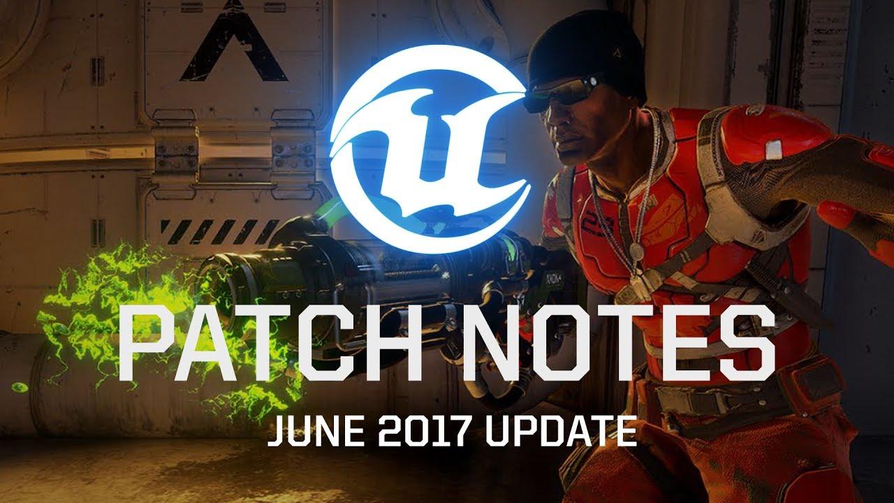 Unreal Tournament June 2017 Patch Notes