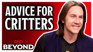 Matt Mercer's advice for critters on becoming D&D players and DM's - Explorer's Guide to Wildemount