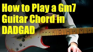 How to Play a Gm7 Guitar Chord in DADGAD