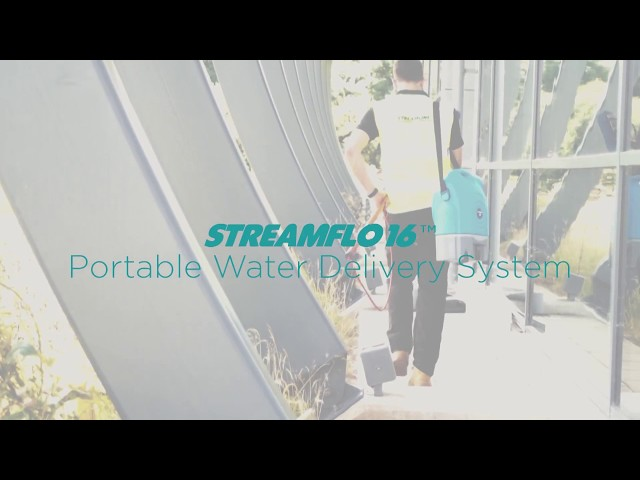 STREAMFLO-16™ Portable Water Delivery System