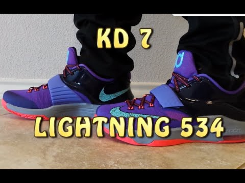 on sale d414c 9e75a KD 7 VII Lightning 534 Review with ON FEET