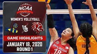JRU vs. SBU  - January 18, 2020 | Game Highlights | NCAA 95 WV