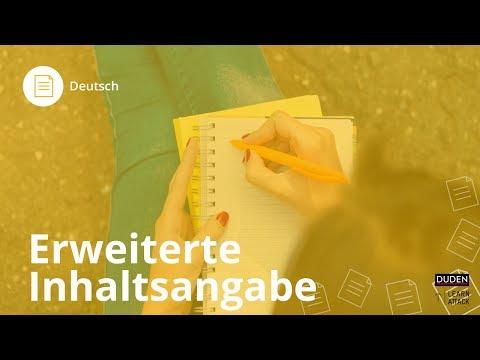 Erweiterte Inhaltsangabe: Das musst du beachten! – Deutsch | Duden Learnattack