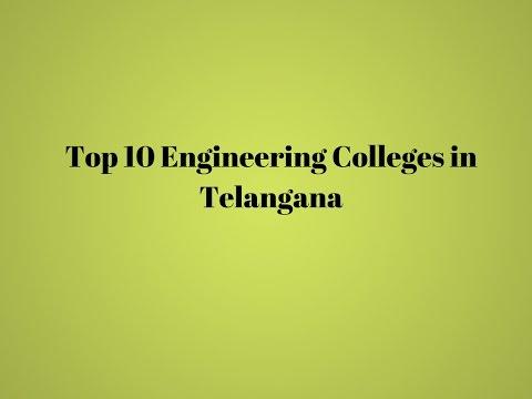 Top 10 Engineering Colleges in Telangana | TagMyCollege