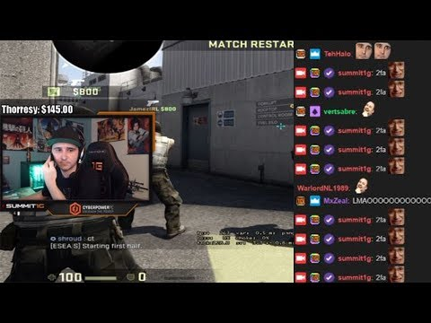 Summit1g Gets Hacked Live On Stream