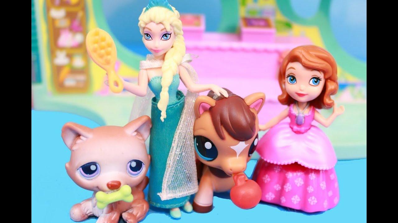 Lps Elsa Amp Sofia The First Shop For Littlest Pet Shop