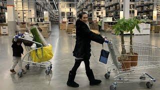 IKEA Խանութում - Փողի Ծառեր - Heghineh Armenian Family Vlog 242 - Հեղինե - Mayrik by Heghineh