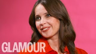 Felicity Jones on her anxiety: 'I used to get to the point I'd be vomiting' | GLAMOUR UNFILTERED