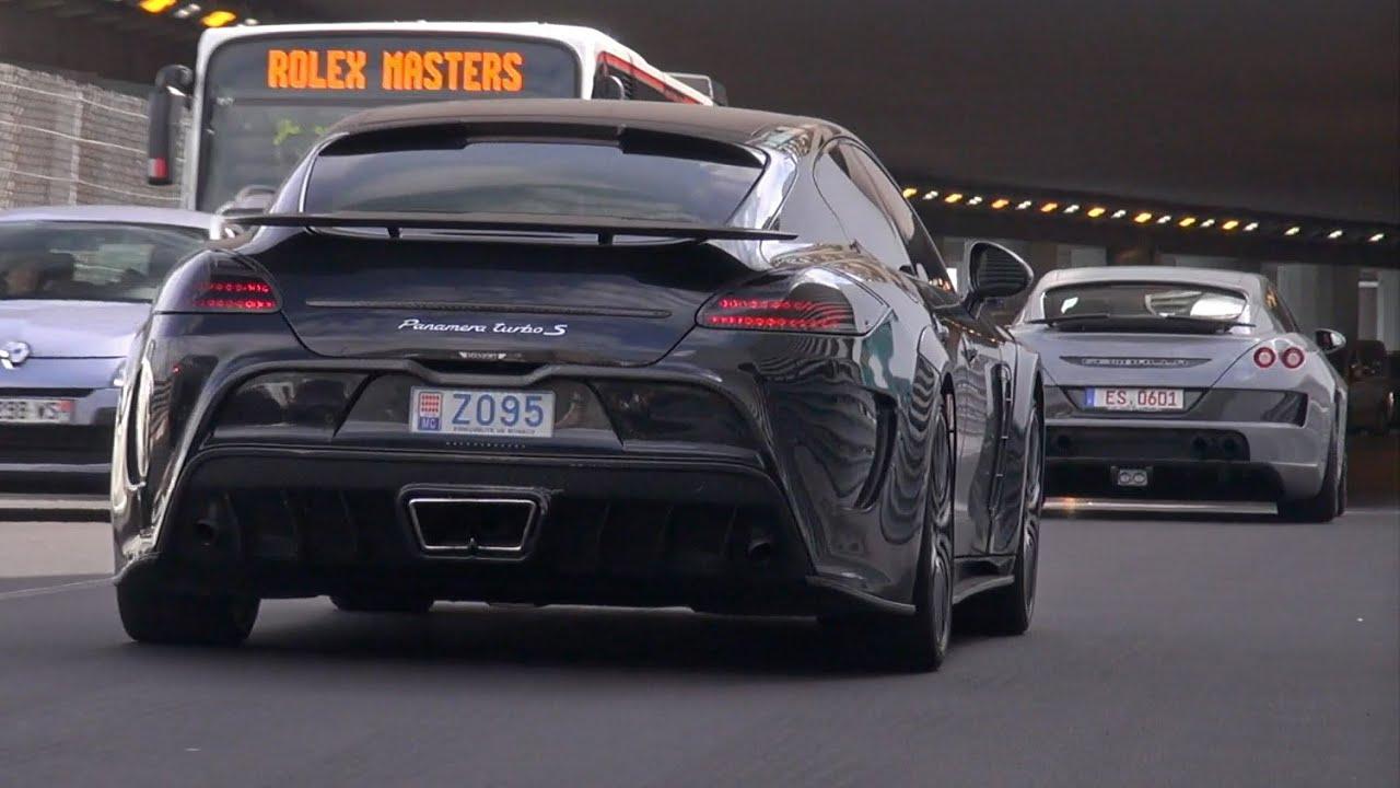 690HP Porsche Mansory Panamera C One + 600HP Panamera GTS MkII - YouTube
