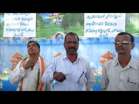 Mallesham - a former opinion on Mallanna Sagar Reservoir