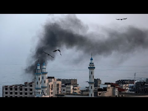 Sixteen Palestinians killed in Israeli airstrikes on Gaza