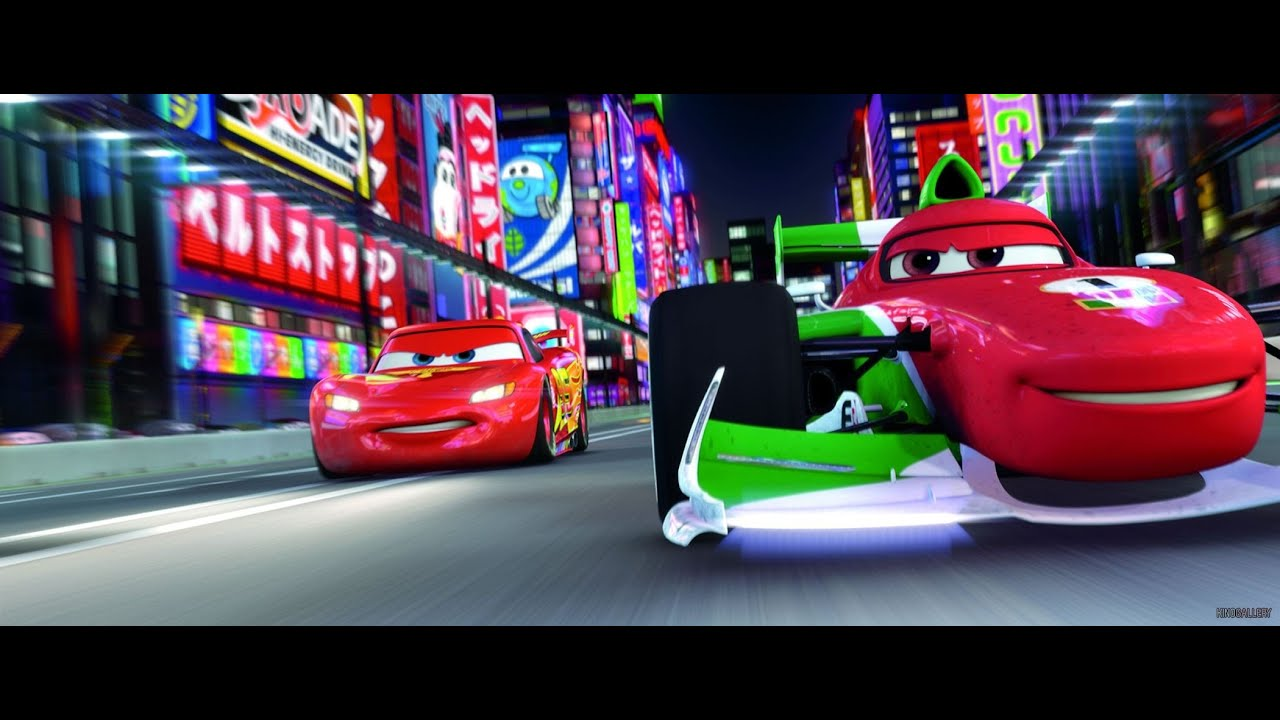 cars 2 sun valley raceway disney pixar cars 2 movie game youtube. Black Bedroom Furniture Sets. Home Design Ideas