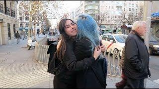 CONOCIENDO A MI YOUTUBER FAVORITA EN MADRID - vlog002