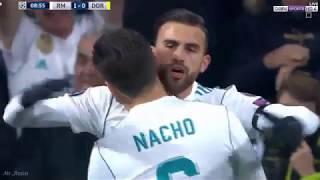 ملخص واهداف مباراة ريال مدريد و دورتموند اليوم 3 2  دورى ابطال اوروبا HD  YouTube