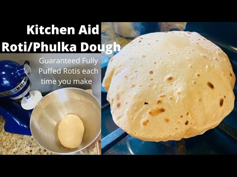 how-to-make-roti/chapati-dough-using-kitchen-aid-stand-mixer(-guaranteed-softest-rotis)