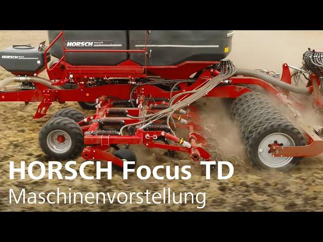 Maschinenvorstellung Focus TD