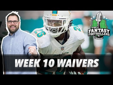 Fantasy Football 2017 - Week 10 Waivers & QB Streamers, Kristi Yamaguchi - Ep. #474