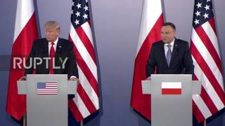 Poland: CNN 'have been fake news for a long time' – Trump in Warsaw
