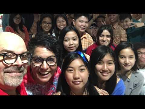 "Bandung, Indonesia - Dan & Suzie Potter ""What a Wonderful World""  3/17"