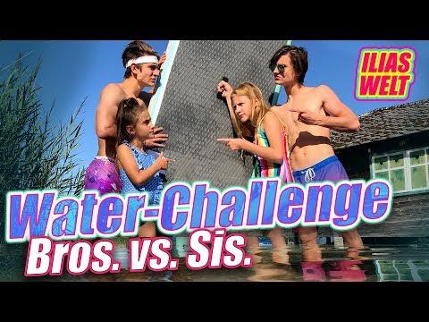 ILIAS WELT - Waterchallenge // Brüder gegen Schwestern ▶21:48