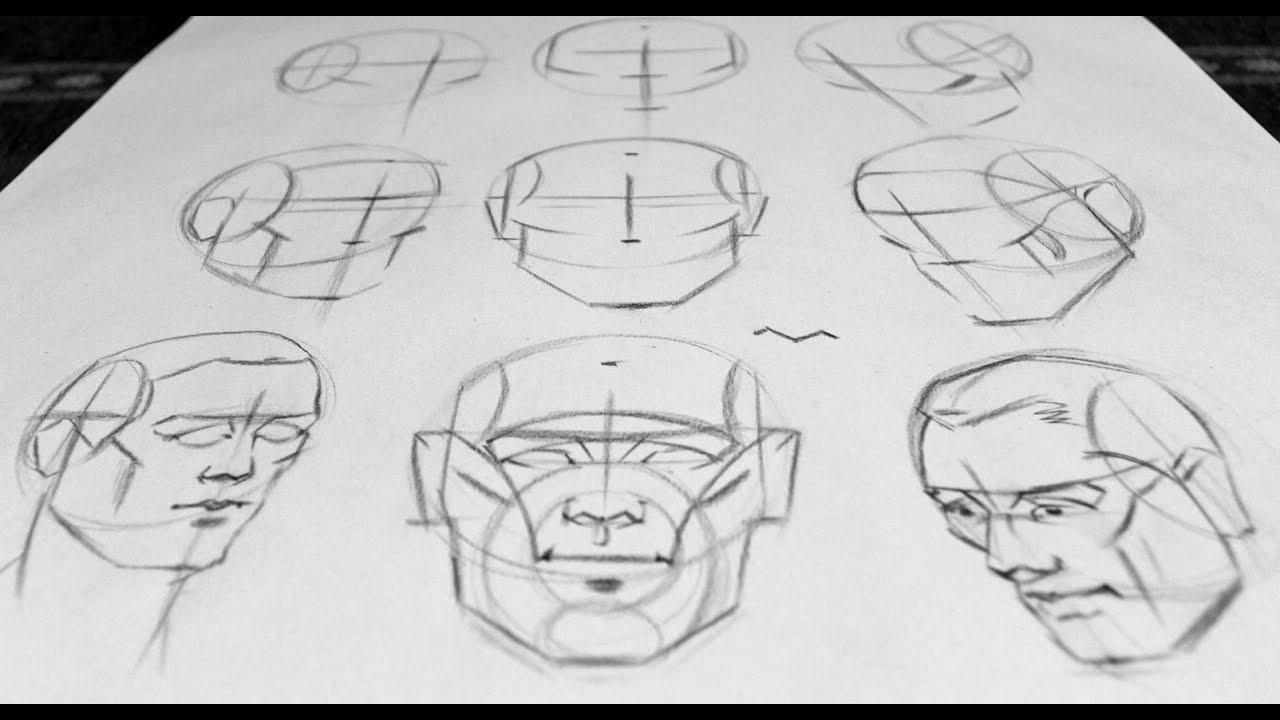 Portrait Drawing Basics