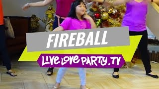 Fireball by Pitbull | Zumba® Kids Jr. with Maia Paltu-ob | Live Love Party