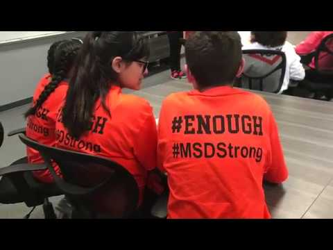 Heritage Middle School - #Enough #MSDStrong Rally 3/14/2018