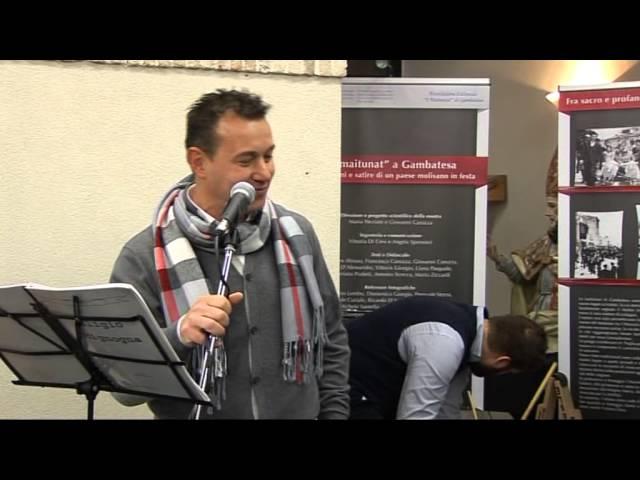 Gambatesa 30-12-2013 convegno: canzone