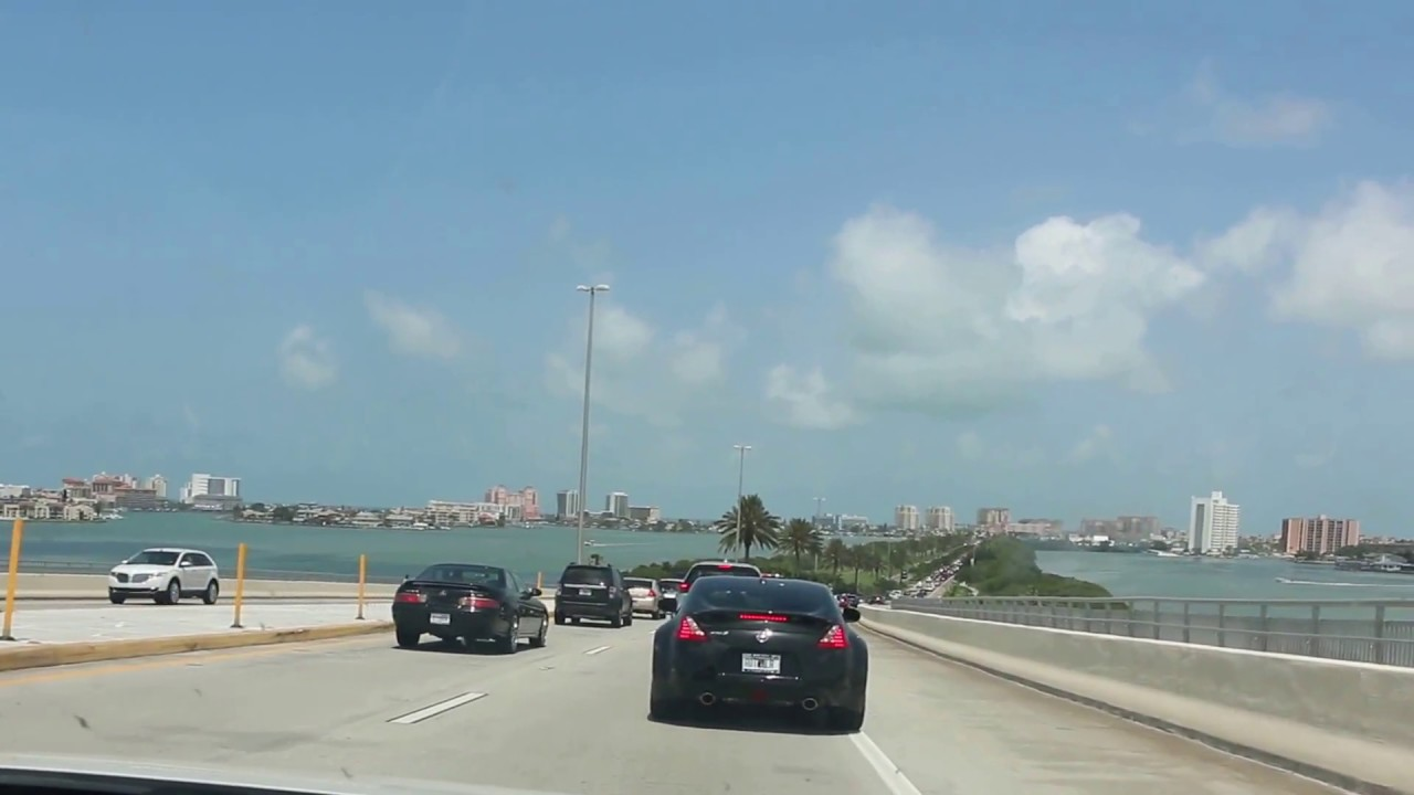 Way To Clearwater Beach Tampa Fl