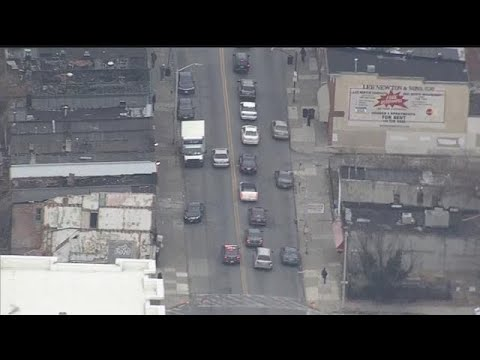 RAW VIDEO: Shooting suspect in custody after dramatic Baltimore police chase