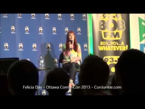 Felicia Day - Ottawa Comic-Con 2013