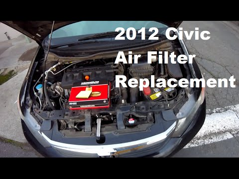2012 honda civic air filter