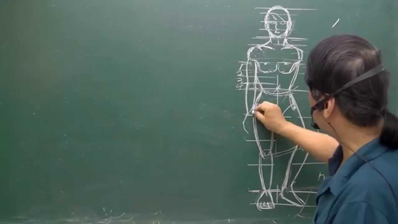 人體工學比例(二) 站姿(許國風教授)