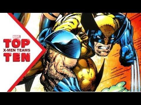 Marvel Top 10 X-Men Teams
