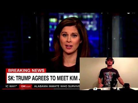 "CNN's Erin Burnett Says Trump a ""Great President"" Regarding Kim Jong Un & North Korea Diplomacy"