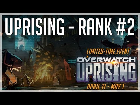 [Overwatch] Uprising - Legendary - Rank #2 NA