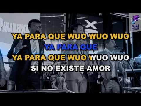 Camaguey - Ya Para Que (Karaoke)