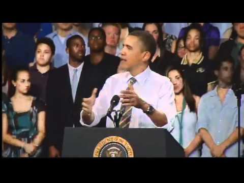 Raw Video: Obama Speaks To CU - Boulder Crowd