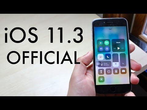 iOS 11.3 OFFICIAL On iPHONE 6! (Review) - YouTube