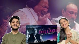 Indians React to Tumhe Dillagi Original Song by Nusrat Fateh Ali Khan!!!!