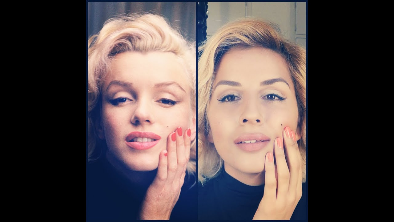 Makeup tutorial marilyn monroe alfred eisenstaedt youtube baditri Images