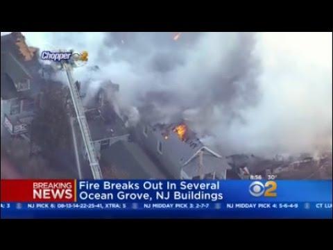 Ocean Grove Fire Latest - YouTube