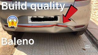 Tin ka dabba | maruti baleno build quality | exposed 😭