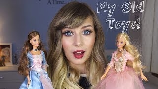 Reacting To My 90s/00s Childhood Toys!   Rebecca Smile
