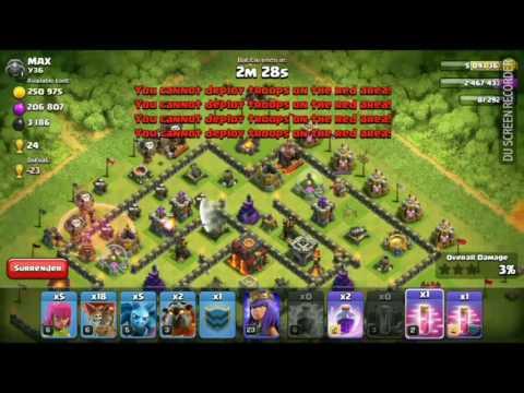 Clash Of Clans Cc Troops Glitch!!!