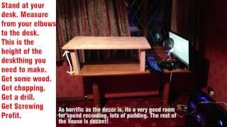 Diy Standing Desk Setup And Impressions