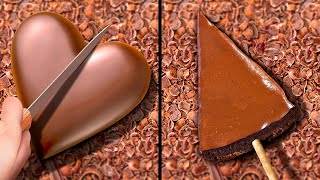 25 RECEITAS DELICIOSAS COM CHOCOLATE || Ideias de Decorações Caseiras e Bolos de Chocolate