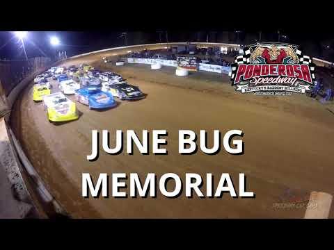 June Bug Memorial Promo for May 17th at Ponderosa Speedway