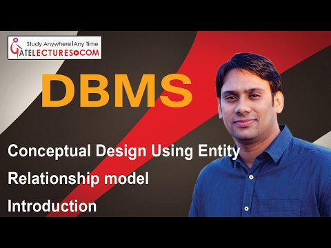Databse Management System 04 Introduction to Conceptual Design Using Entity Relationship model